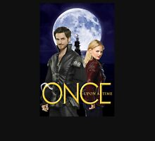 Once upon a time, OUAT, OUAT swan hook, Emma and Killian, Swan and hook, OUAT moon ship, version 2 Unisex T-Shirt