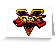 Street Fighter V Greeting Card