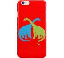 Brontosaurus funny nerd geek geeky iPhone Case/Skin