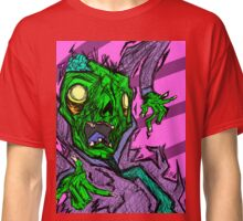 Colorful Sketchy Zombie Design Classic T-Shirt