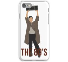 Say Anything - Famous Boombox Scene iPhone Case/Skin