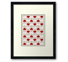 HeartStrings Valentine Framed Print