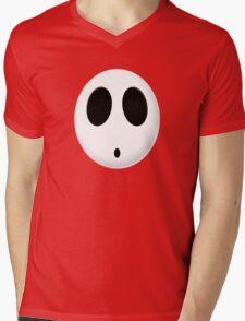 Shy Guy Mens V-Neck T-Shirt