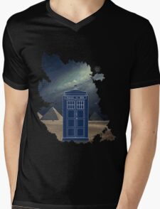 Dr. Who  Mens V-Neck T-Shirt