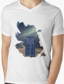 Dr. Who  Mens V-Neck T-Shirt