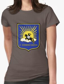 2° Stormo Caccia Aeronautica Militare Italiana Womens Fitted T-Shirt