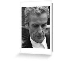 Original Peter Capaldi Art Photography Greeting Card