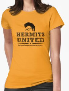 Hermits United Womens Fitted T-Shirt