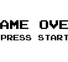 Game Over Pc Vintage Ninetendo by MrAnthony88