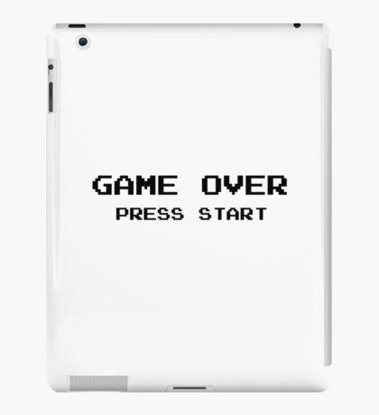 Game Over Pc Vintage Ninetendo iPad Case/Skin
