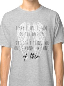 Side of the Angels (WHITE) Classic T-Shirt