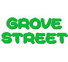 GTA San Andreas Game PC XBOX Playstation Grove Street Quotes Photographic Print