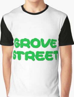 GTA San Andreas Game PC XBOX Playstation Grove Street Quotes CJ Graphic T-Shirt