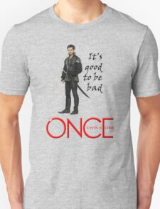 OUAT, once upon a time, OUAT hook, hook, good to be bad Unisex T-Shirt