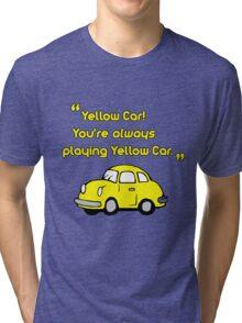 Yellow Car Tri-blend T-Shirt