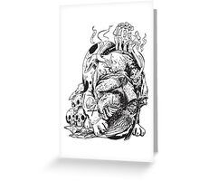 Sin Eater Greeting Card