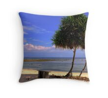 The warmth and light of tropic lands... Throw Pillow