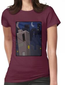 Sub-Suburbia Womens Fitted T-Shirt