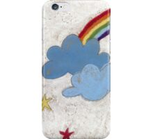 The stars and the rainbow iPhone Case/Skin