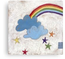 The stars and the rainbow Metal Print