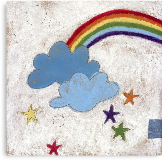 The stars and the rainbow by Tine  Wiggens