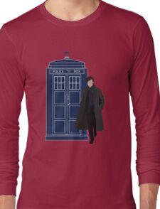 Dr. Who / Sherlock Long Sleeve T-Shirt