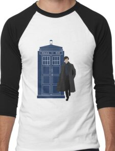 Dr. Who / Sherlock Men's Baseball ¾ T-Shirt