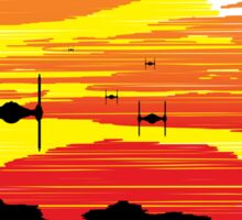 TIE Fighters Incoming Sticker