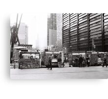 Downtown NYC Canvas Print