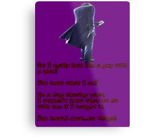 Ledger-Joker Quote #2 Metal Print
