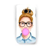 """""""Geek Girl """" Blonde version  Samsung Galaxy Case/Skin"""