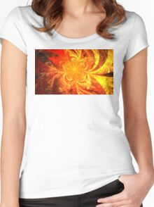 Summer Marigold Women's Fitted Scoop T-Shirt