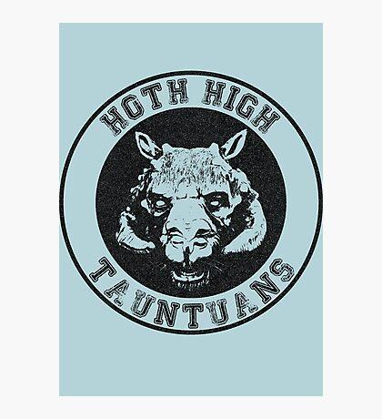 HOTH HIGH TAUNTAUNS Photographic Print