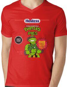 Teenage Mutant Puddin' Pies Mens V-Neck T-Shirt