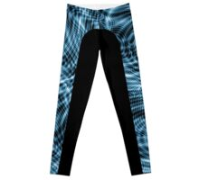 Nu Blu Waves Leggings