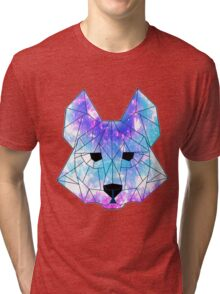 Crystal Wolf Tri-blend T-Shirt