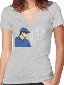 Friday Night Lights - Panthers, Clear Eyes Full Hearts Can't Lose Women's Fitted V-Neck T-Shirt