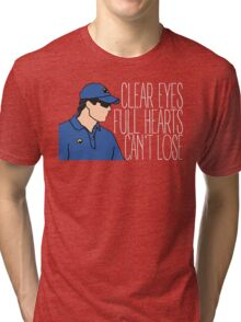 Friday Night Lights - Panthers, Clear Eyes Full Hearts Can't Lose Tri-blend T-Shirt