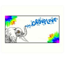 Grouplove Elephant Art Print
