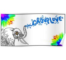 Grouplove Elephant Poster