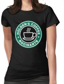 Holden coffee Womens Fitted T-Shirt