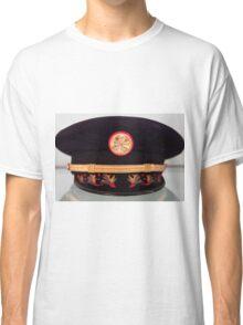 Antique Fire Chief Hat Classic T-Shirt