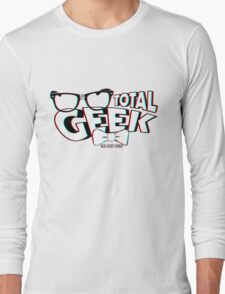 Total Geek - 3D Effect Long Sleeve T-Shirt