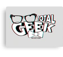 Total Geek - 3D Effect Canvas Print