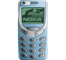 NOKIA blue iPhone Case/Skin