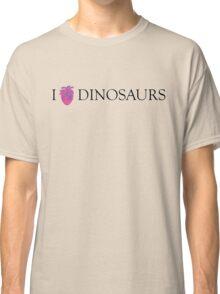 I [Columba] heart dinosaurs Classic T-Shirt
