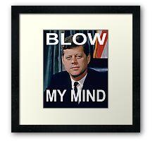 John F. Kennedy  Framed Print
