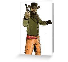 Django Midwest Greeting Card