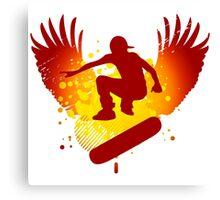 skateboarding hi-fi Canvas Print