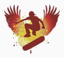 skateboarding hi-fi Kids Clothes